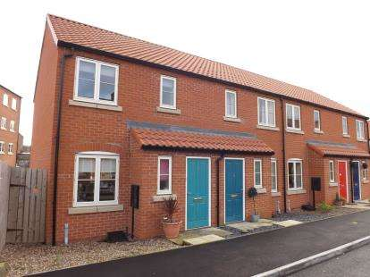 2 Bedrooms End Of Terrace House for sale in Canal Close, Louth, Lincolnshire