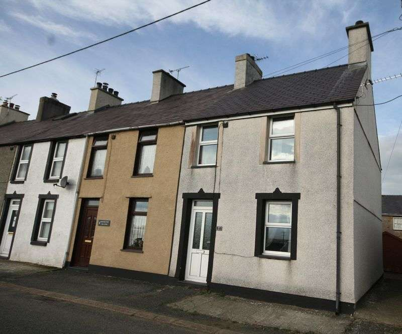 2 Bedrooms Terraced House for sale in Llangaffo, Anglesey