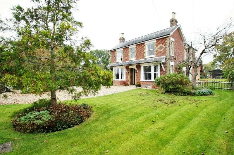 5 Bedrooms Detached House for sale in Parsonage Lane, Durley