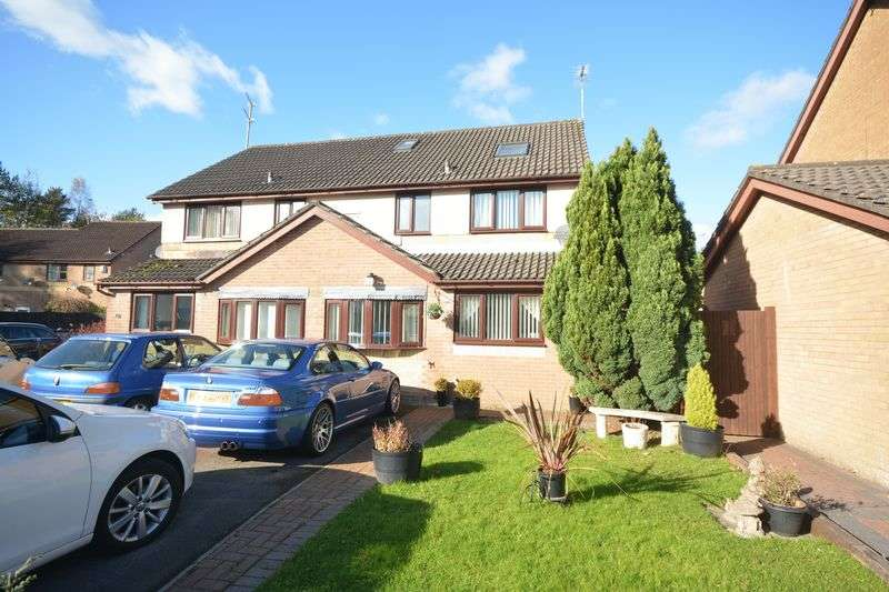 3 Bedrooms Semi Detached House for sale in 86 Heol Maes Yr Haf, Bridgend
