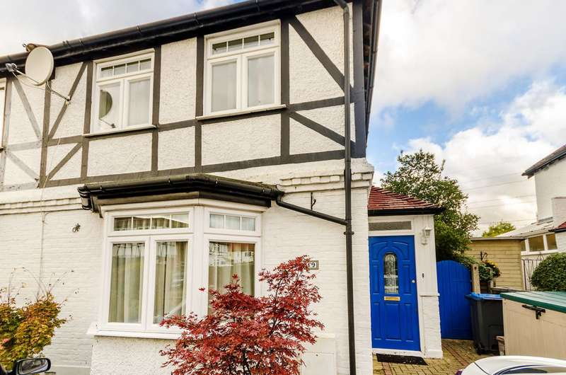 3 Bedrooms Semi Detached House for sale in Idmiston Road, Worcester Park, KT4