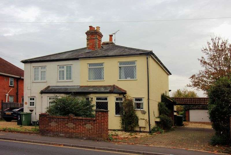 2 Bedrooms Semi Detached House for sale in Sturt Road, Camberley