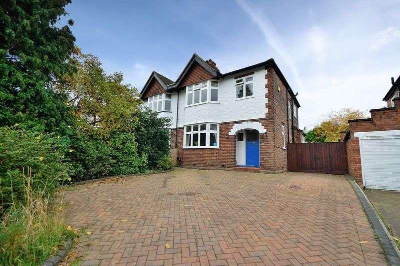 3 Bedrooms Semi Detached House for sale in Alexandra Road, Stockton Heath, WA4 2AN