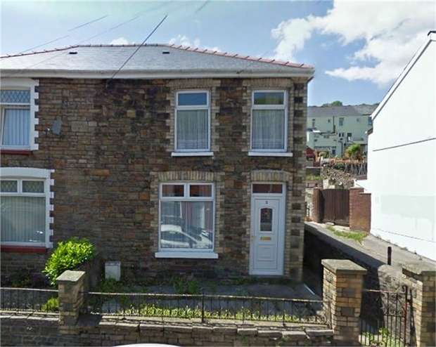 3 Bedrooms Semi Detached House for sale in Dunraven Place, Ogmore Vale, Bridgend, Mid Glamorgan