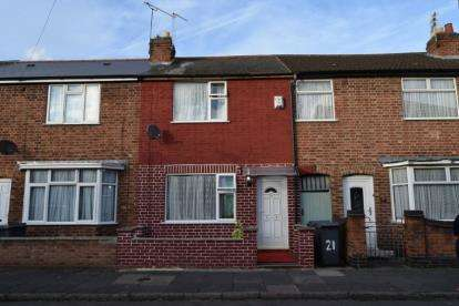 2 Bedrooms Terraced House for sale in Prestwold Road, Leicester