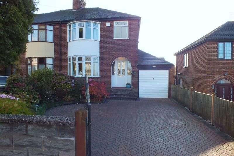 3 Bedrooms Semi Detached House for sale in Ash Bank Road, Werrington, Stoke-On-Trent