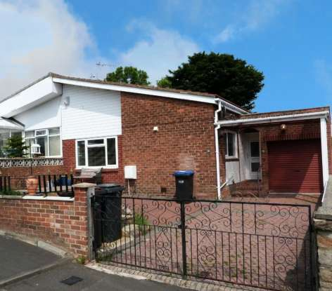 2 Bedrooms Semi Detached Bungalow for sale in Midhill Close, Durham, DH7 8SL