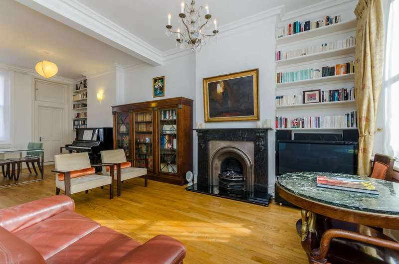 5 Bedrooms Maisonette Flat for sale in Perham Road, Barons Court, W14
