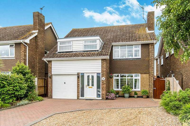 4 Bedrooms Detached House for sale in Bishopstone Lane, Herne Bay, CT6