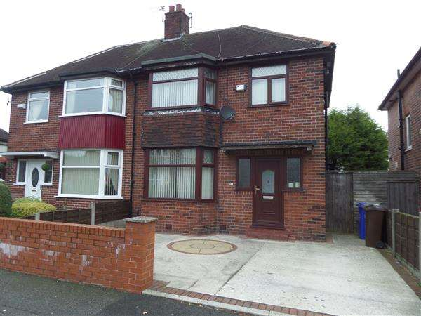 3 Bedrooms Semi Detached House for sale in Wigsby Avenue, Manchester