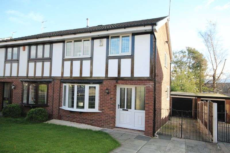 3 Bedrooms Semi Detached House for sale in AUGUSTA CLOSE, Cronkeyshaw, Rochdale OL12 6HT