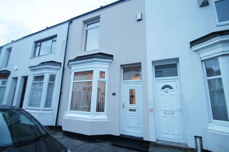 2 Bedrooms Terraced House for sale in Carlow Street, Middlesbrough