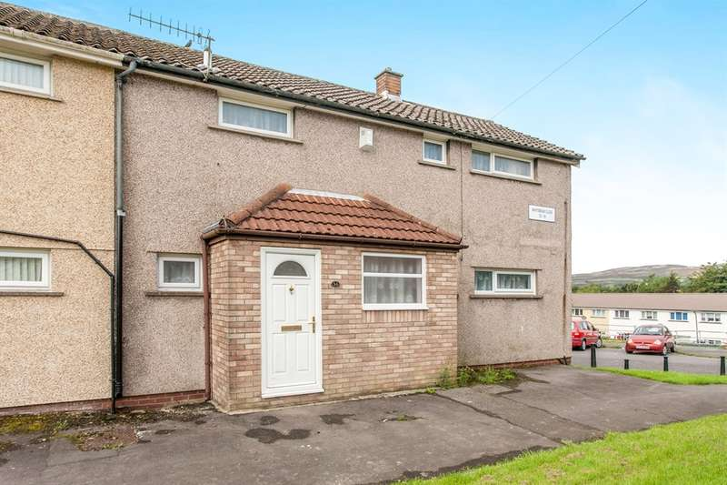 3 Bedrooms Semi Detached House for sale in Whitebeam Close, Gurnos Estate, Merthyr Tydfil