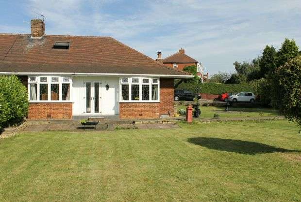 4 Bedrooms Semi Detached Bungalow for sale in West End, Guisborough