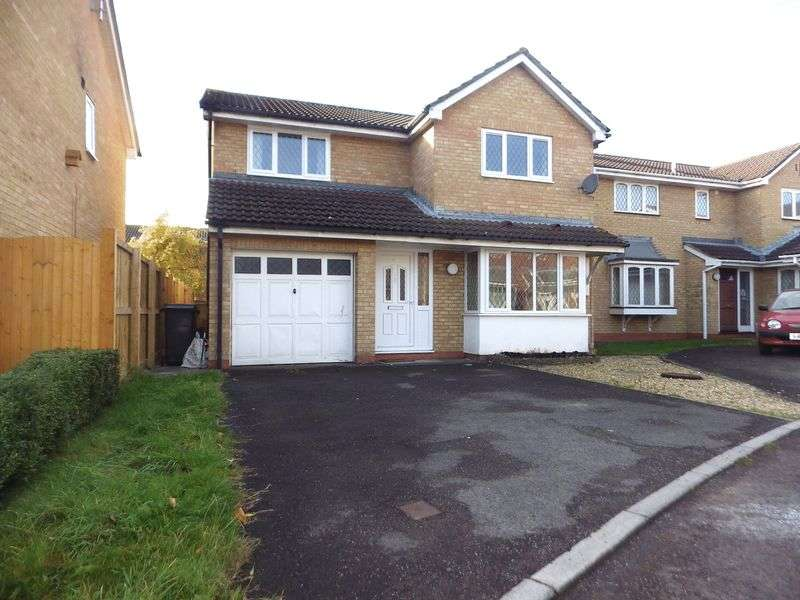 4 Bedrooms Detached House for sale in Campion Drive, Bradley Stoke