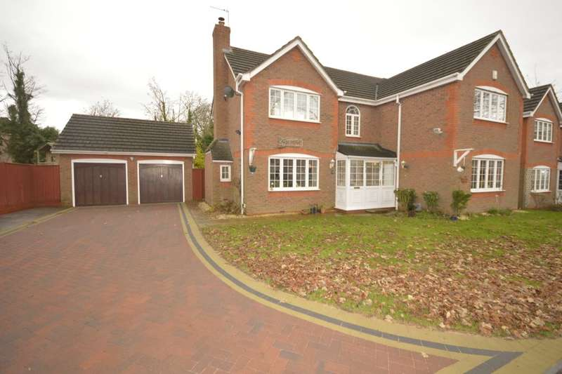 5 Bedrooms Detached House for sale in Wood Hayes Croft, Wolverhampton, WV10