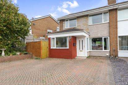 4 Bedrooms Semi Detached House for sale in Heol Fammau, Mynydd Isa, Mold, Flintshire, CH7