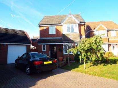 3 Bedrooms Detached House for sale in Mallard Gardens, St. Helens, Merseyside, WA9