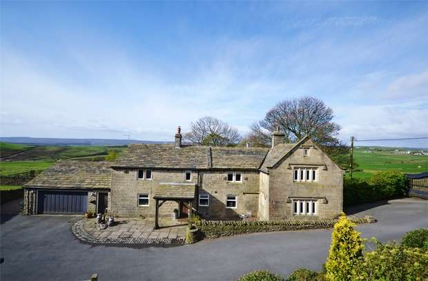 4 Bedrooms Detached House for sale in Lower Maythorne Lane, HOLMFIRTH, South Yorkshire
