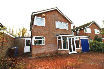 3 Bedrooms Detached House for sale in Patch Croft Road, Peel Hall, Manchester, Greater Manchester