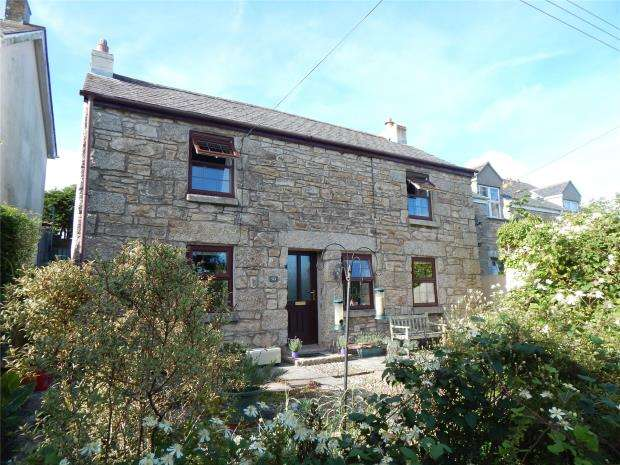 2 Bedrooms Detached House for sale in Church Hill, Ludgvan, Penzance, Cornwall