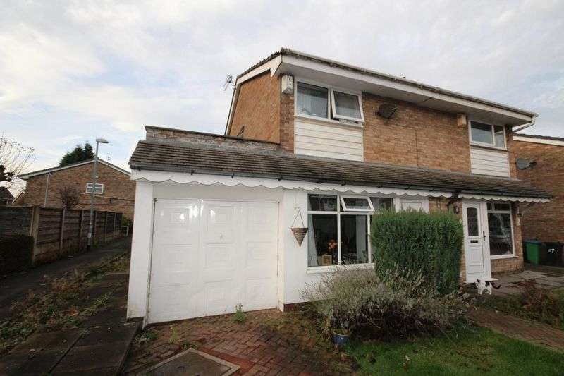 2 Bedrooms Semi Detached House for sale in Arden Avenue, Alkrington, Middleton, Manchester M24 1PN
