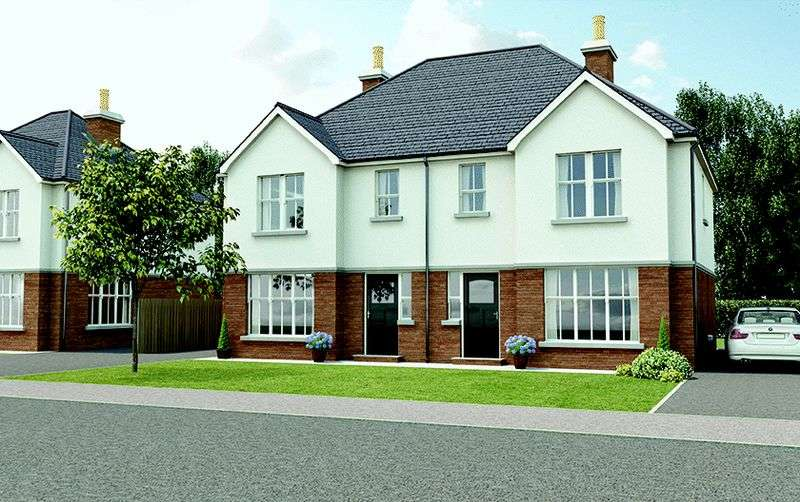 3 Bedrooms Semi Detached House for sale in Site 9 - Weavers Court, Lurgan