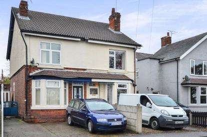 2 Bedrooms Semi Detached House for sale in Chesterfield Road, Huthwaite, Sutton-In-Ashfield, Notts
