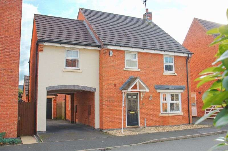 4 Bedrooms Detached House for sale in Pitchcombe Close, Lodge Park, Redditch, Worcestershire