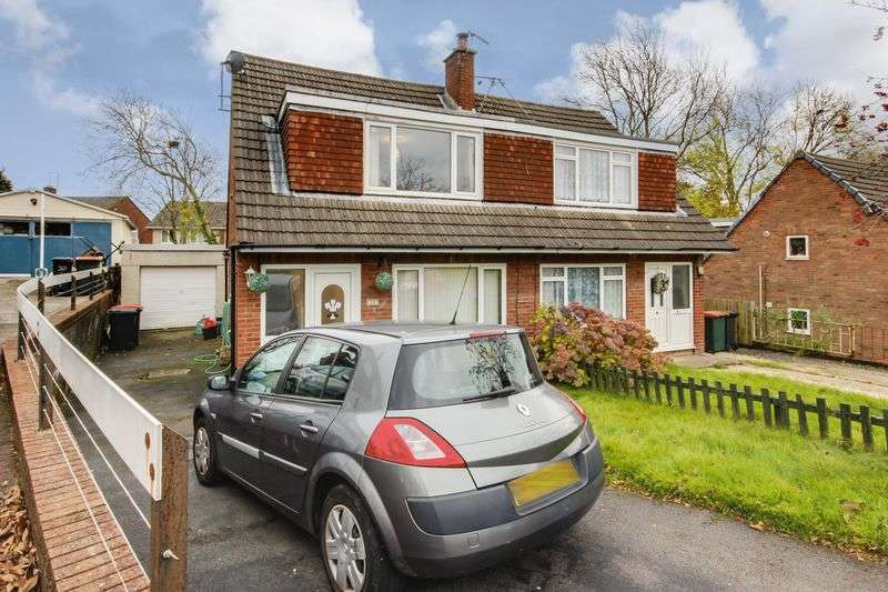 3 Bedrooms Semi Detached House for sale in Japonica Close, Newport
