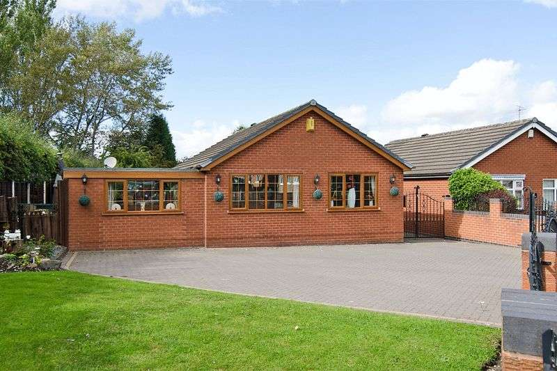 3 Bedrooms Detached Bungalow for sale in Berwyn Grove, Cheslyn Hay, Walsall