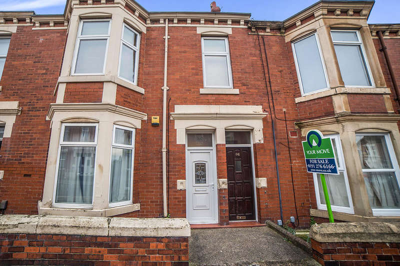3 Bedrooms Flat for sale in Addycombe Terrace, Newcastle Upon Tyne, NE6