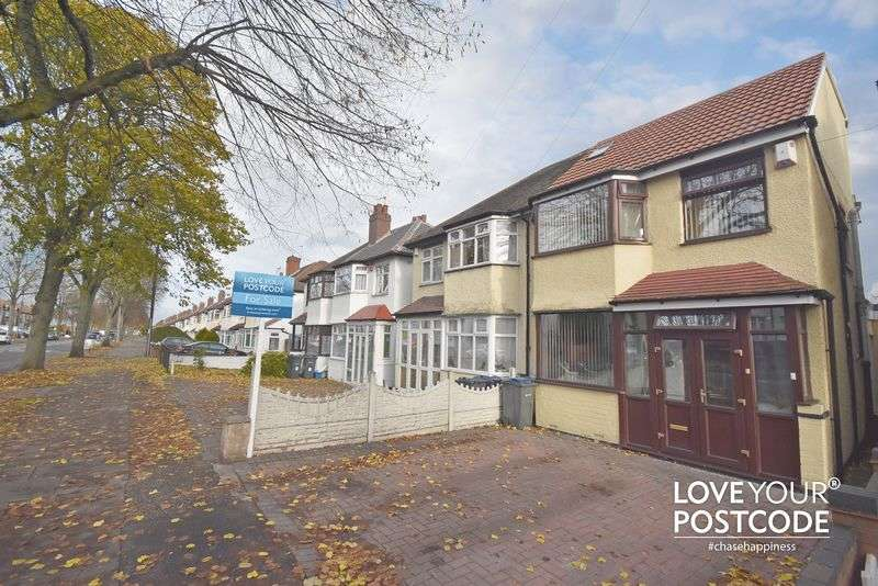 4 Bedrooms Semi Detached House for sale in Cateswell Road, Birmingham, B11 3DT