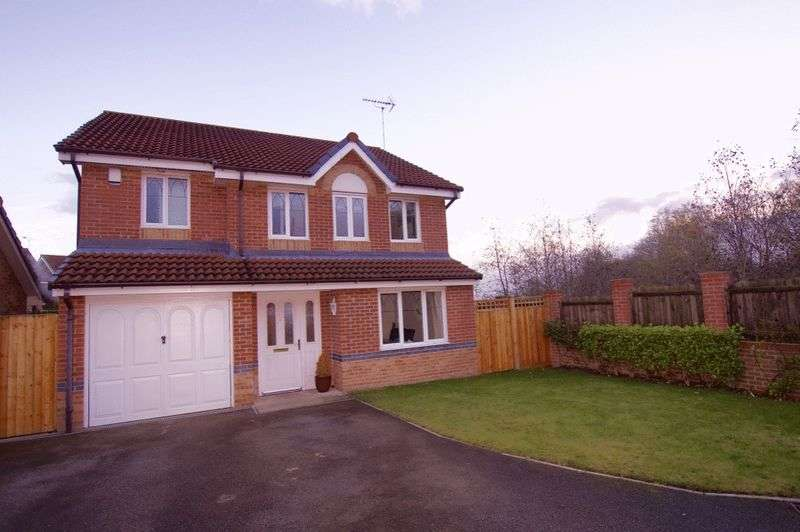 4 Bedrooms Detached House for sale in Mill Bank, Brymbo, Wrexham
