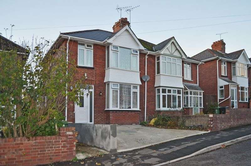 3 Bedrooms Semi Detached House for sale in Nicholas Road, Heavitree