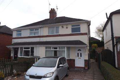 3 Bedrooms Semi Detached House for sale in Cedar Avenue, Talke, Stoke-On-Trent, Staffordshire