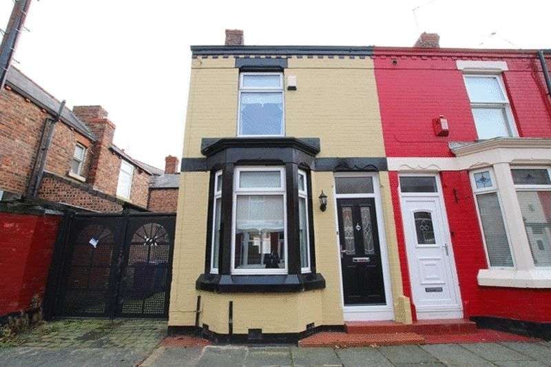 2 Bedrooms Terraced House for sale in Basing Street, Garston, Liverpool, L19