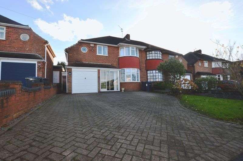 5 Bedrooms Semi Detached House for sale in Rednal Road, Birmingham