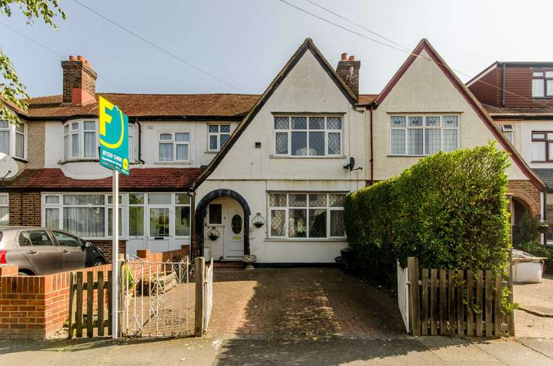 3 Bedrooms Terraced House for sale in Meopham Road, Streatham Vale, CR4