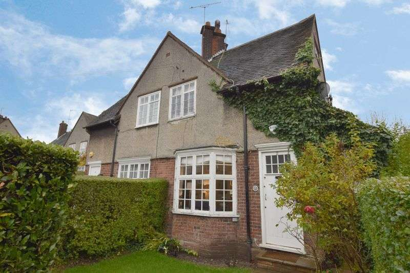 3 Bedrooms Semi Detached House for sale in Midholm, Hampstead Garden Suburb, NW11
