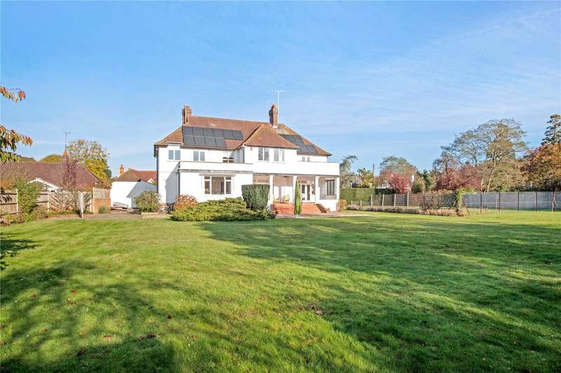 5 Bedrooms Detached House for sale in Lock Avenue, Maidenhead, Berkshire, SL6