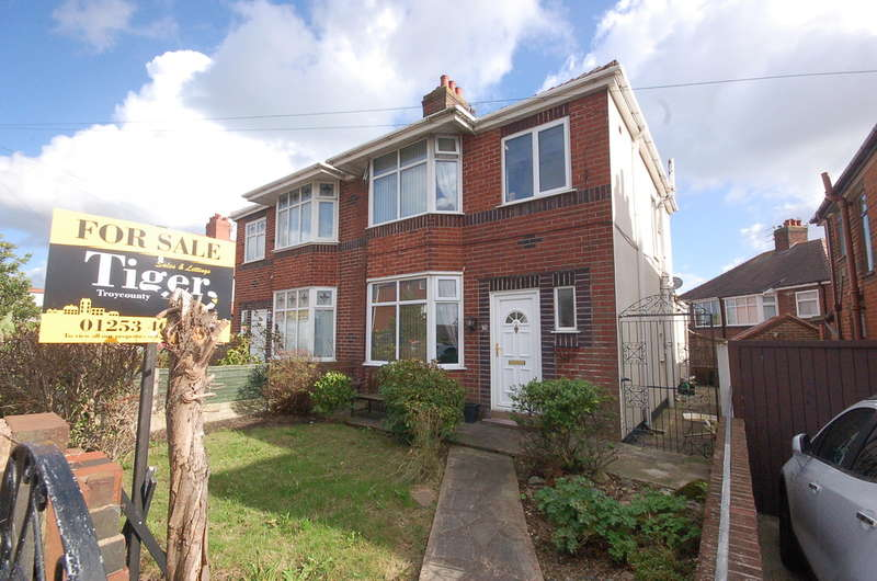3 Bedrooms Semi Detached House for sale in St Bernard Avenue, Blackpool