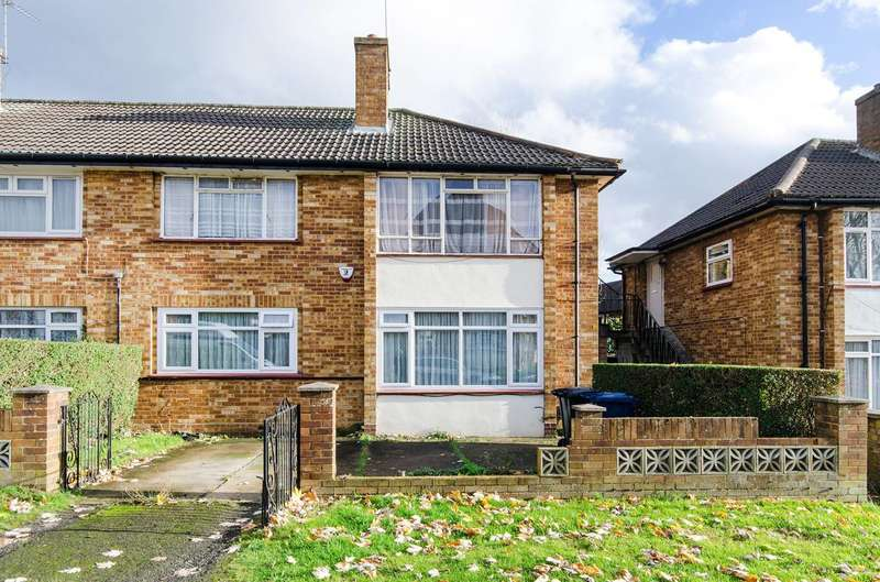 2 Bedrooms Maisonette Flat for sale in Bangor Close, Northolt, UB5