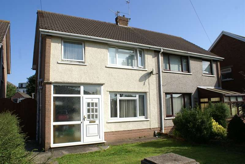 3 Bedrooms Semi Detached House for sale in Quarry Dale, Rumney, Cardiff