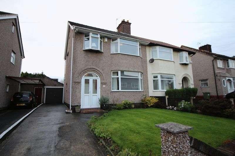 3 Bedrooms Semi Detached House for sale in Heyville Road, Bebington