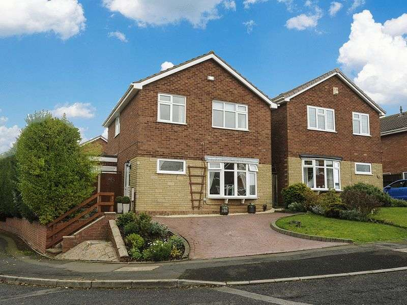 3 Bedrooms Detached House for sale in Monteagle Drive, Kingswinford