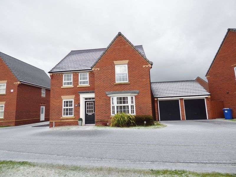 4 Bedrooms Detached House for sale in Detroit Close, Warrington