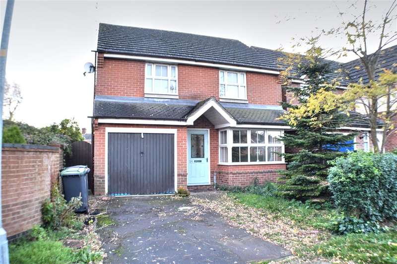 3 Bedrooms Detached House for sale in Cobblers Way, Sleaford