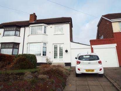 3 Bedrooms Semi Detached House for sale in Moat Lane, Yardley, Birmingham, West Midlands