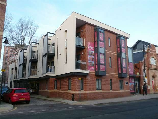 2 Bedrooms Flat for sale in Flat 4, The Town House, 72 Middle Hillgate, Stockport, Cheshire